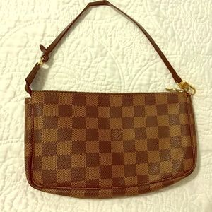 LOUIS VUITTON Damier Ebene Mini Pochette